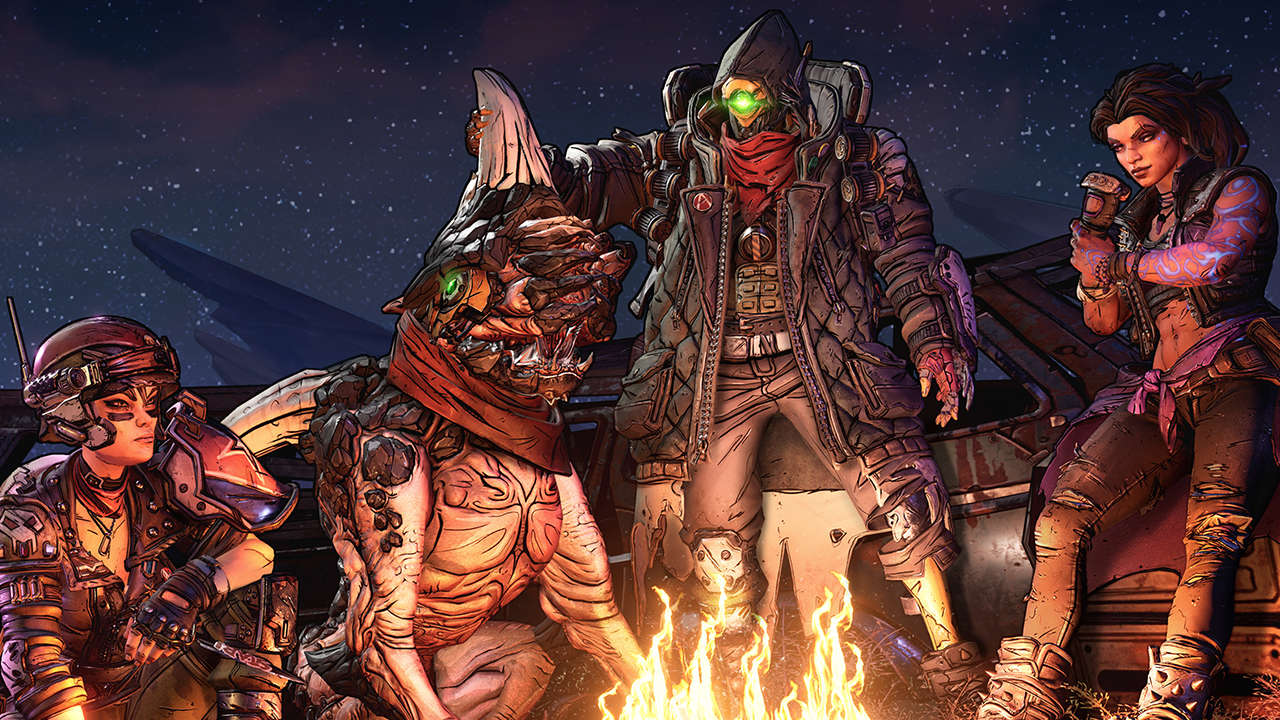 This week's Borderlands 3 anniversary event centers around Twitch and postgame screenshot