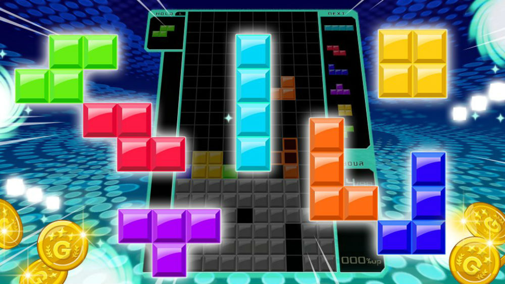 Tetris 99 is invading Smash Ultimate in spirit form, and 'Orange Ricky, Hero and Smashboy' are in screenshot