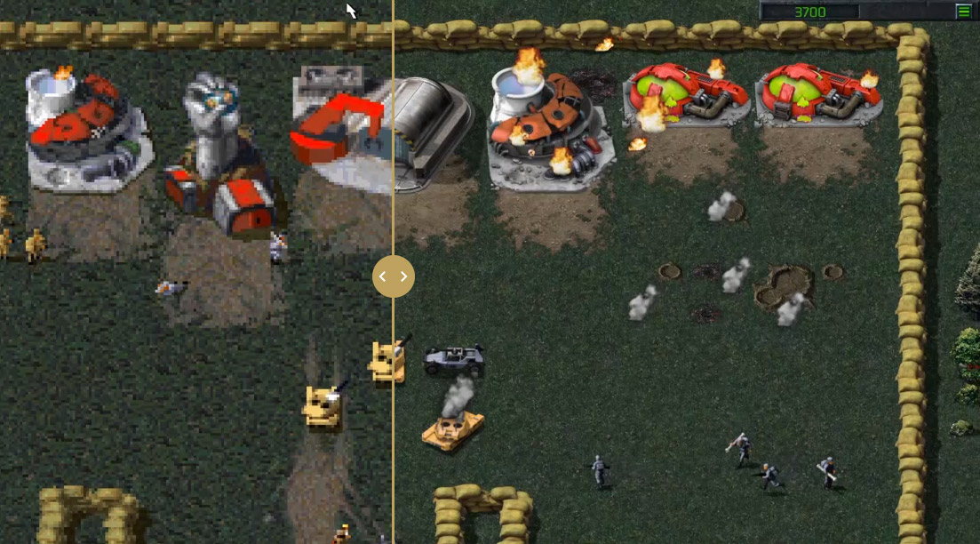 Here's how the Command & Conquer remaster is shaping up screenshot