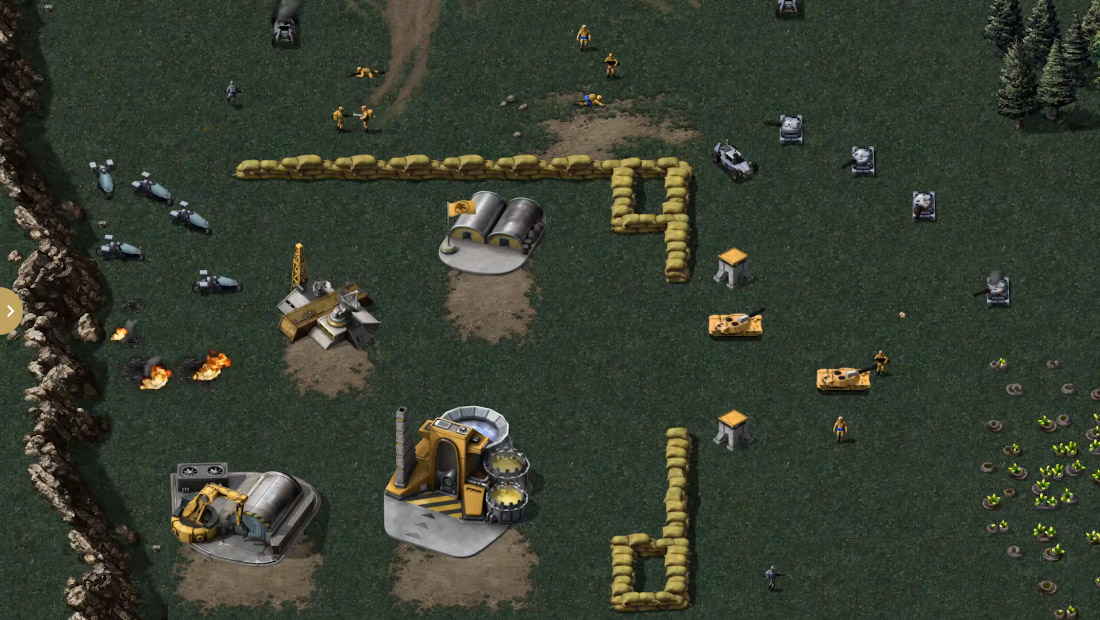 The Command & Conquer 4K remaster