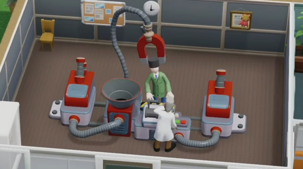 Two Point Hospital console port delayed until 2020 screenshot