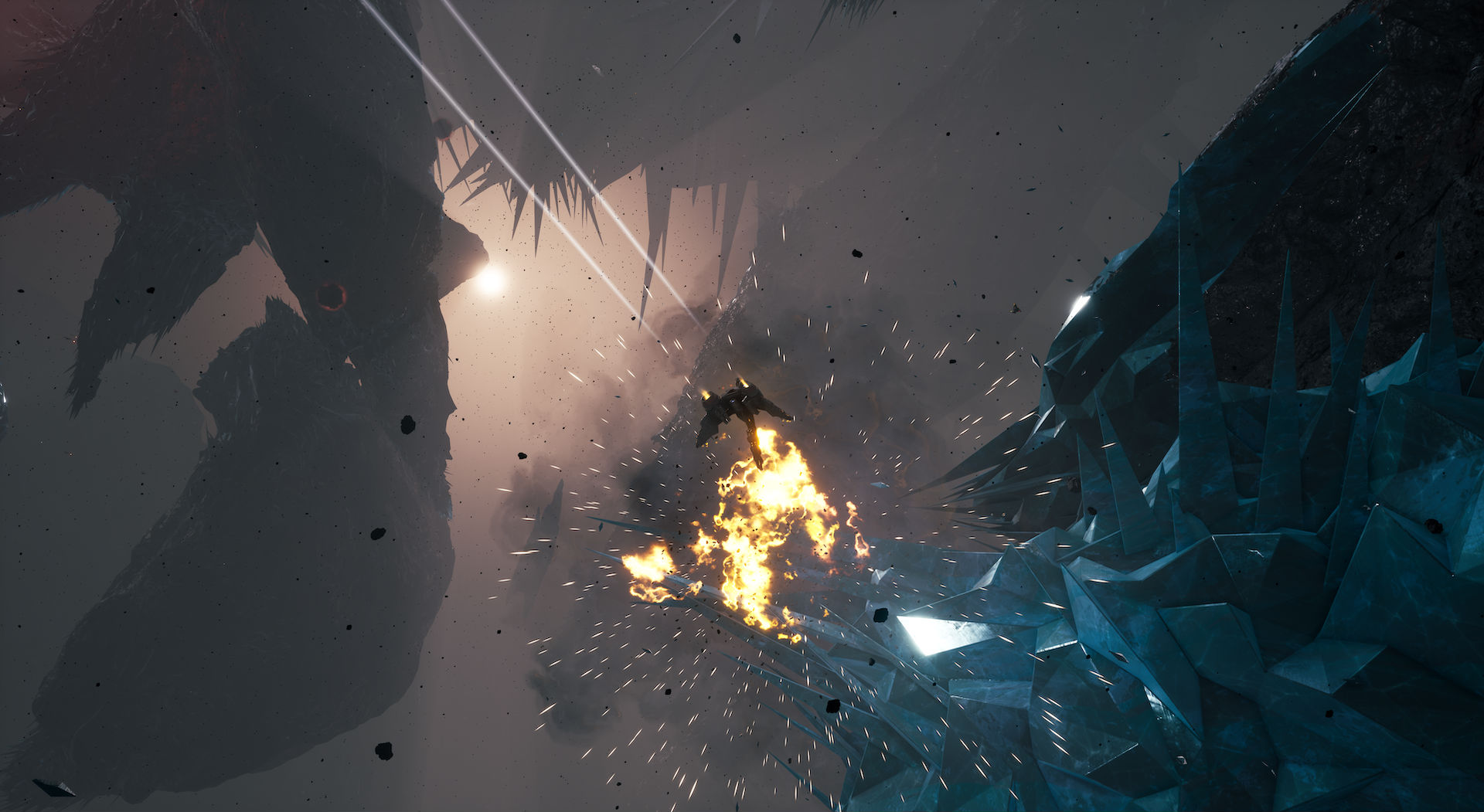 CCP is making strides with their EVE: Aether Wars project, which aims to get over 10,000 ships fighting at once screenshot