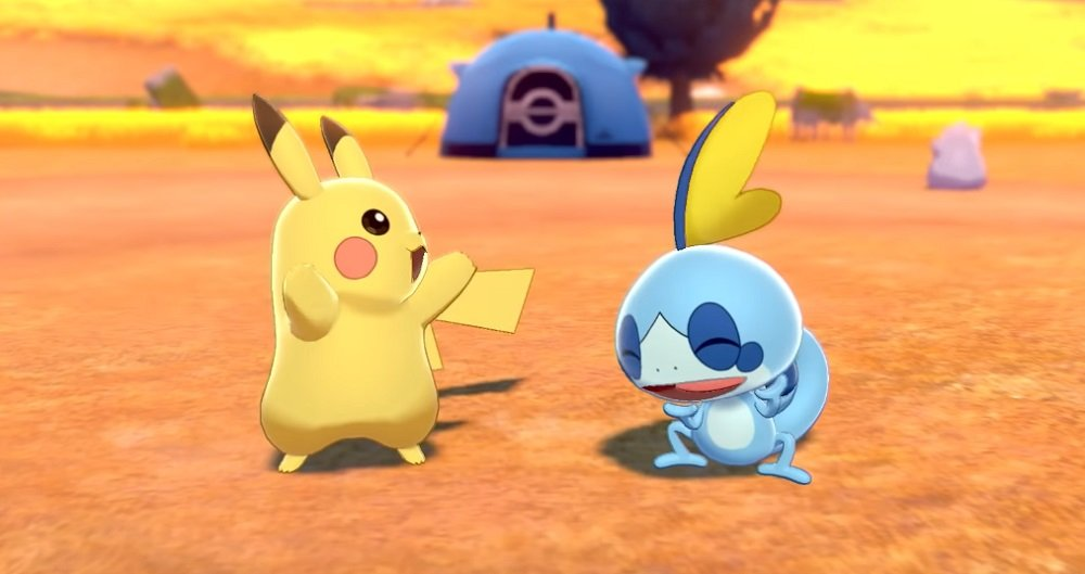 Pokemon Sword and Shield video takes us on a tour of Galar screenshot