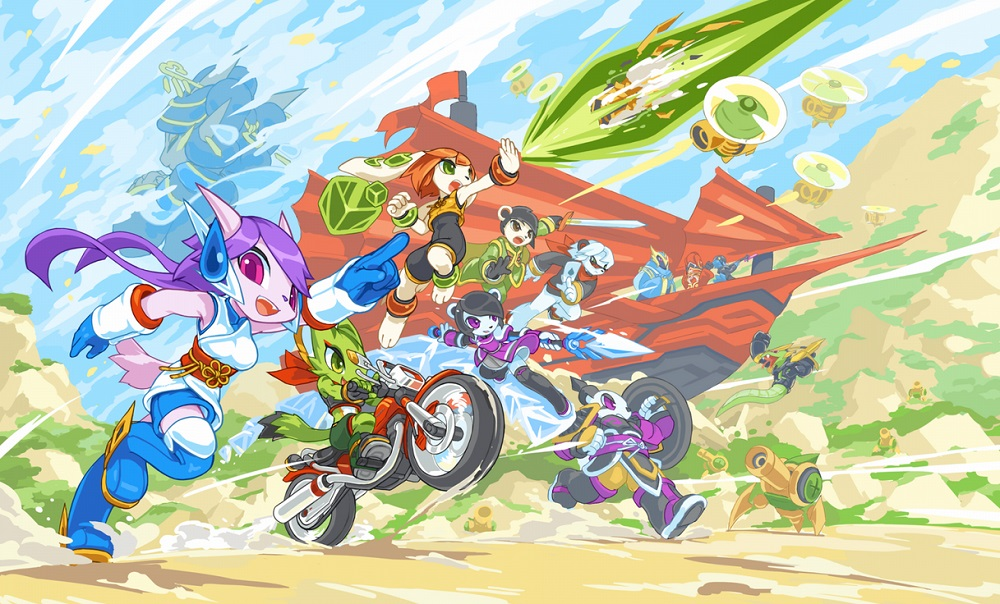 Freedom Planet 2 is looking suitably fuzzy and adorable screenshot