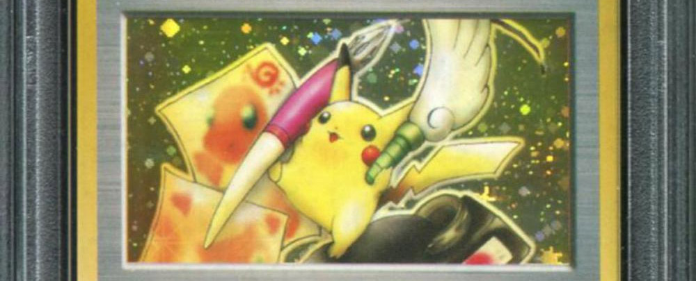 A Pokemon trading card sold for $195,000 screenshot