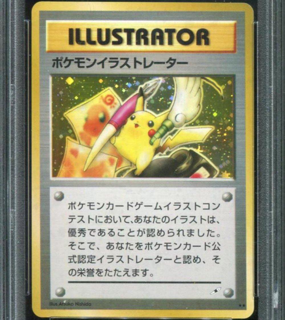 One of the rarest Pokemon cards ever made just sold for $195,000