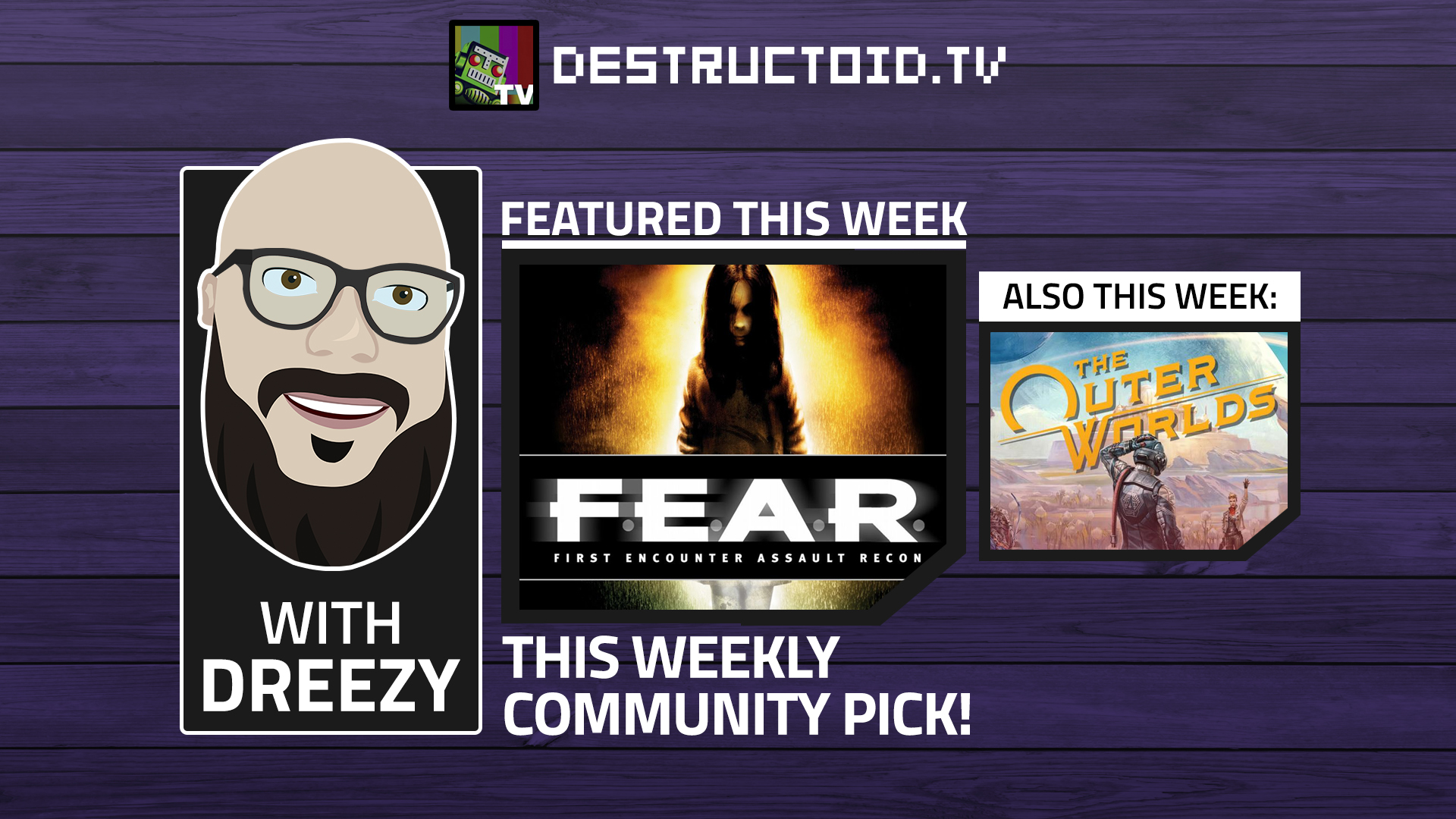 We're live again on Twitch this week with F.E.A.R. and more! screenshot