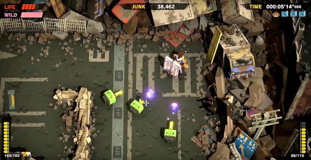 Twin-stick shooter Monkey Barrels coming to Switch next week screenshot