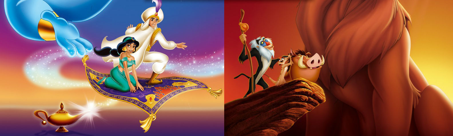 Disney Classic Games: Aladdin and The Lion King is a fantastic collection of a few very old games screenshot