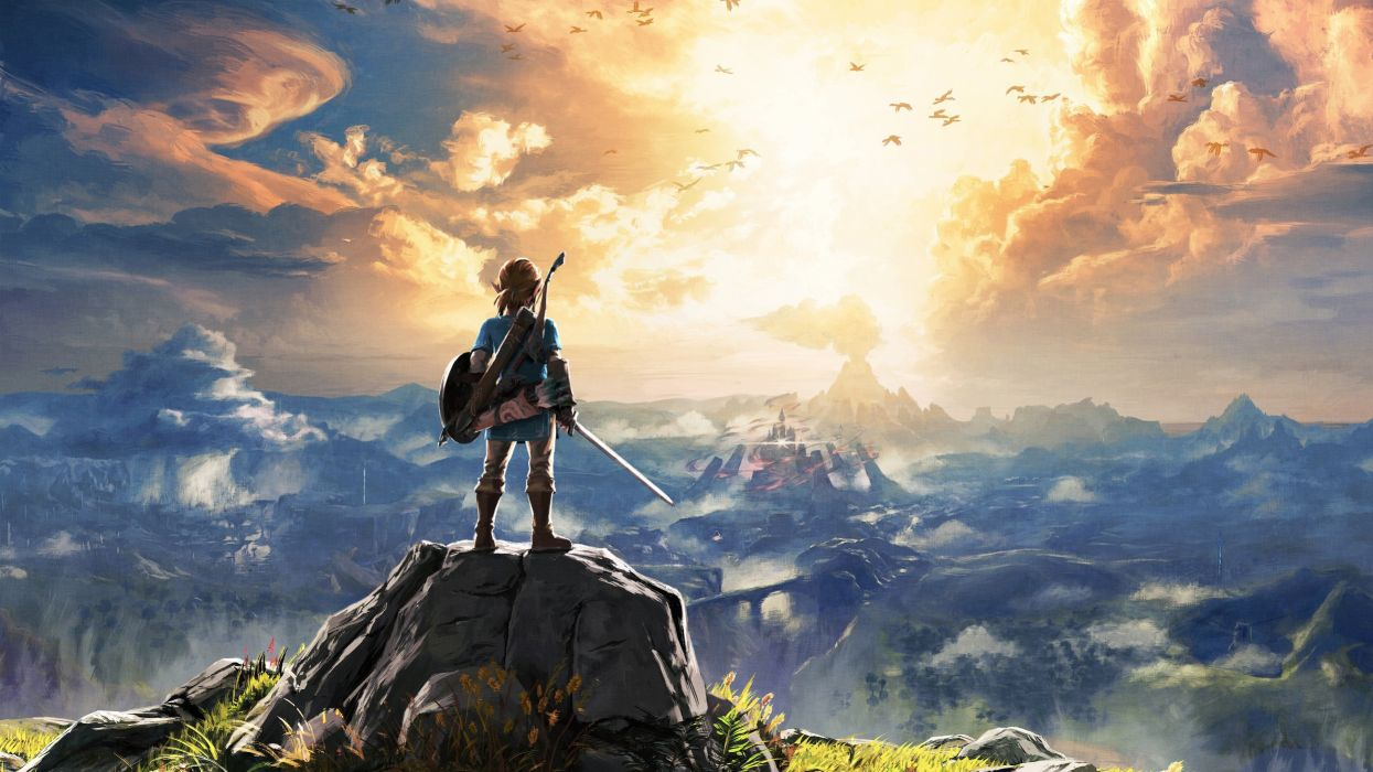 Reggie Fils-Aime's favorite game while he was at Nintendo is naturally Zelda: Breath of the Wild screenshot