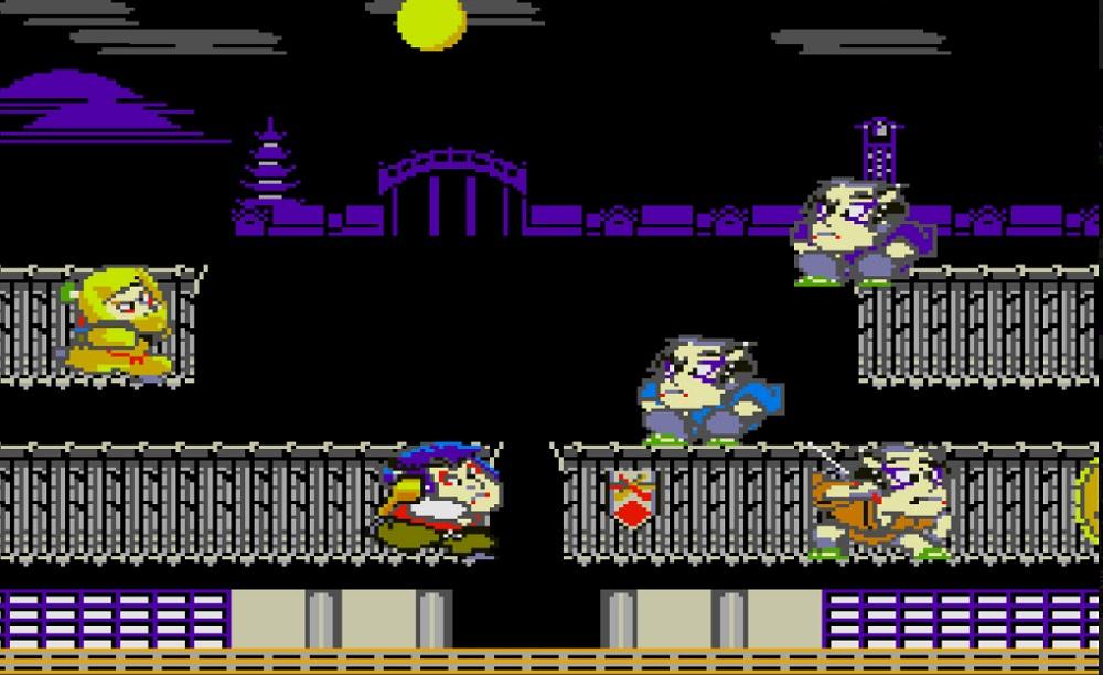 The original Ganbare Goeman title, Mr. Goeman, returns on Nintendo Switch screenshot