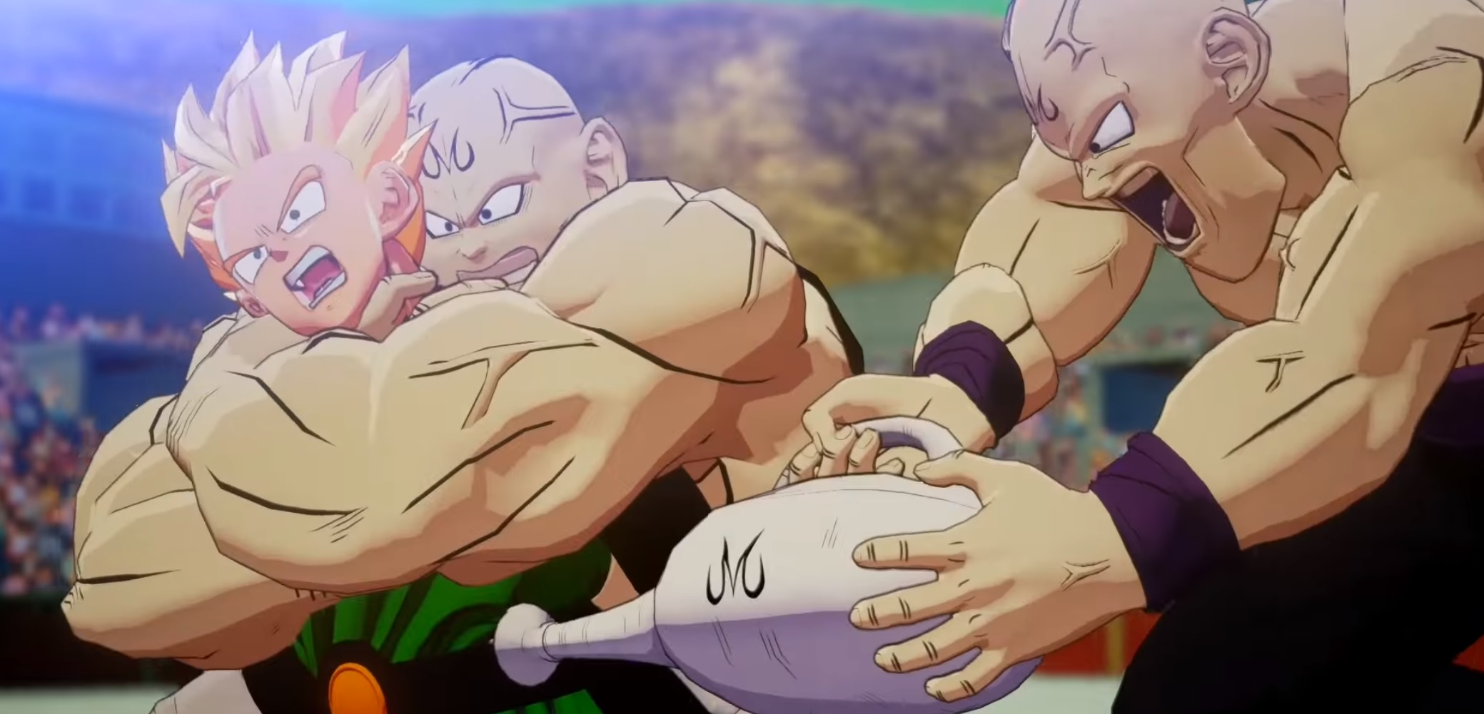 I sincerely hope that Dragon Ball Z: Kakarot is the Asura's Wrath of Dragon Ball games screenshot