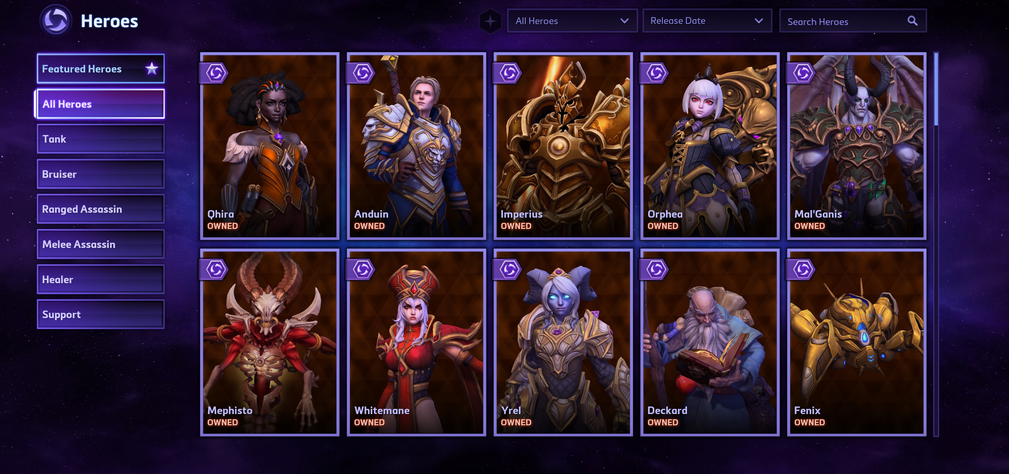 Update Every Character In Blizzard S Heroes Of The Storm Is Currently Free To Play Mal'ganis (tank) patch note history for heroes of the storm (hots). heroes of the storm