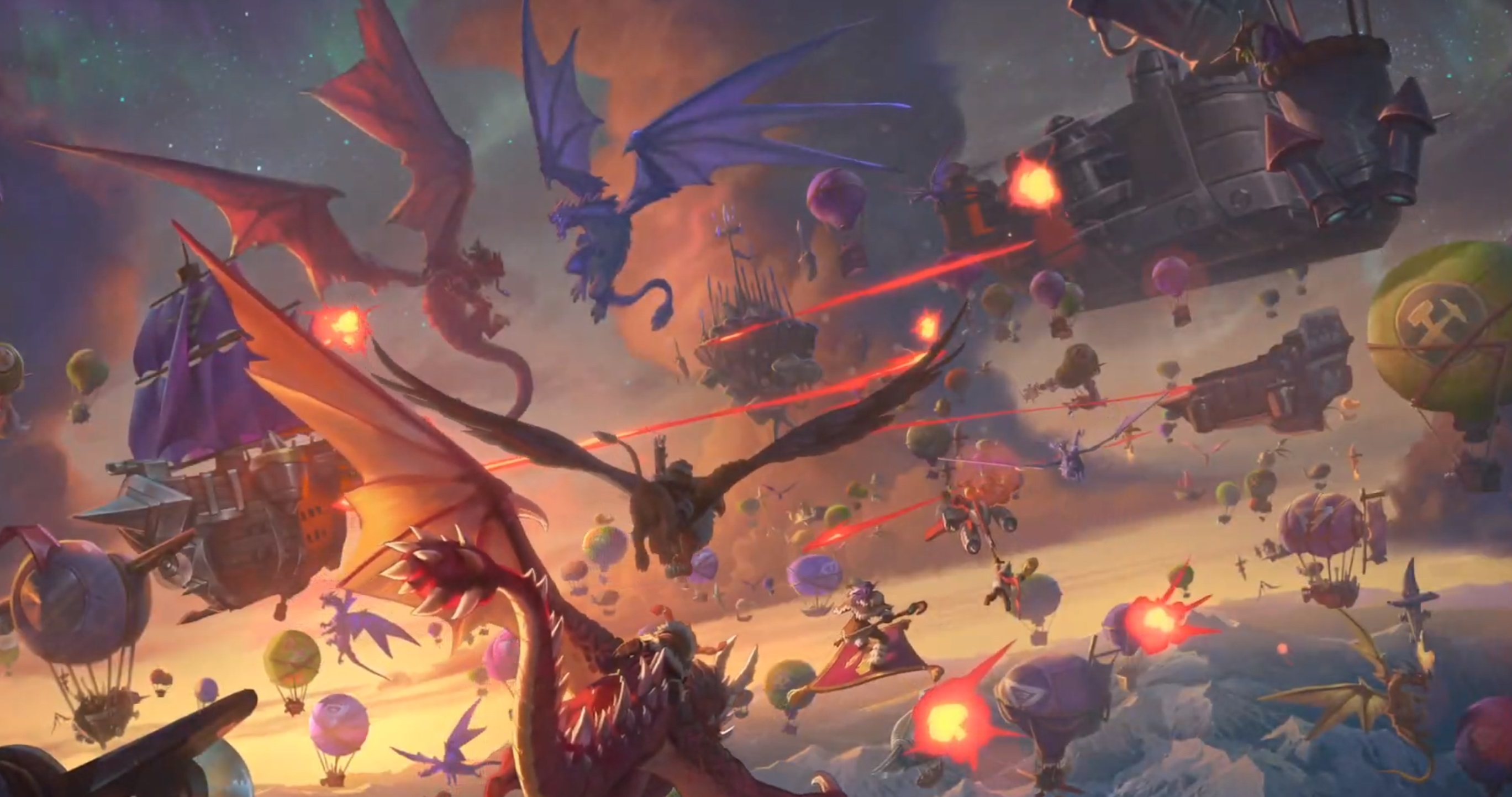 Hearthstone: Descent of Dragons caps off the Year of the Dragon in December screenshot
