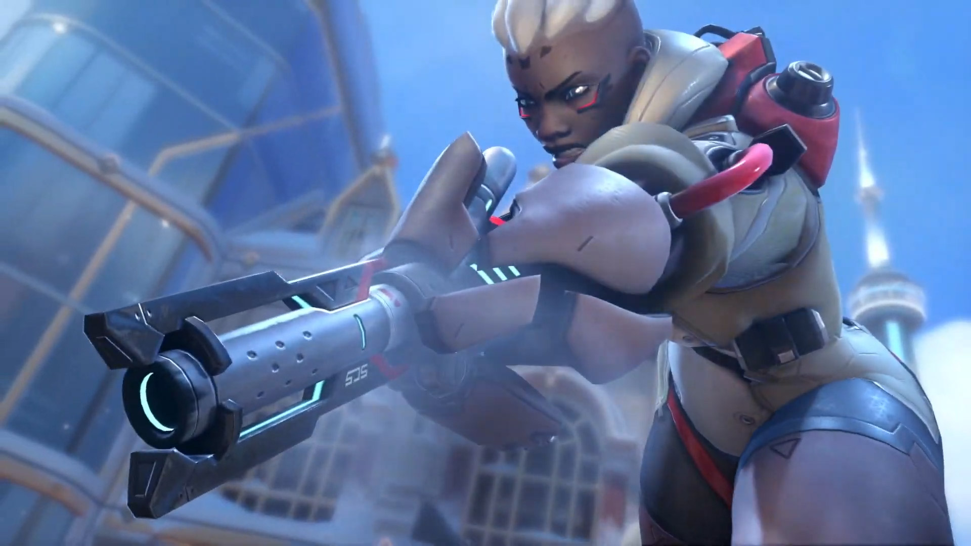Sojourn is the other new arrival for Overwatch 2 screenshot