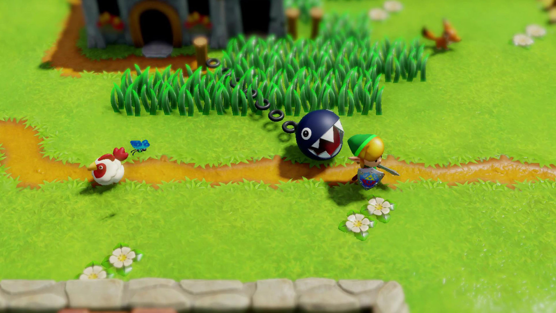 Nintendo says that it's open to more remakes on Switch like Zelda: Link's Awakening screenshot