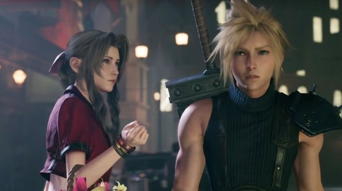 Square Enix made a 13 minute Final Fantasy VII Remake commercial that's basically a mini soap opera screenshot