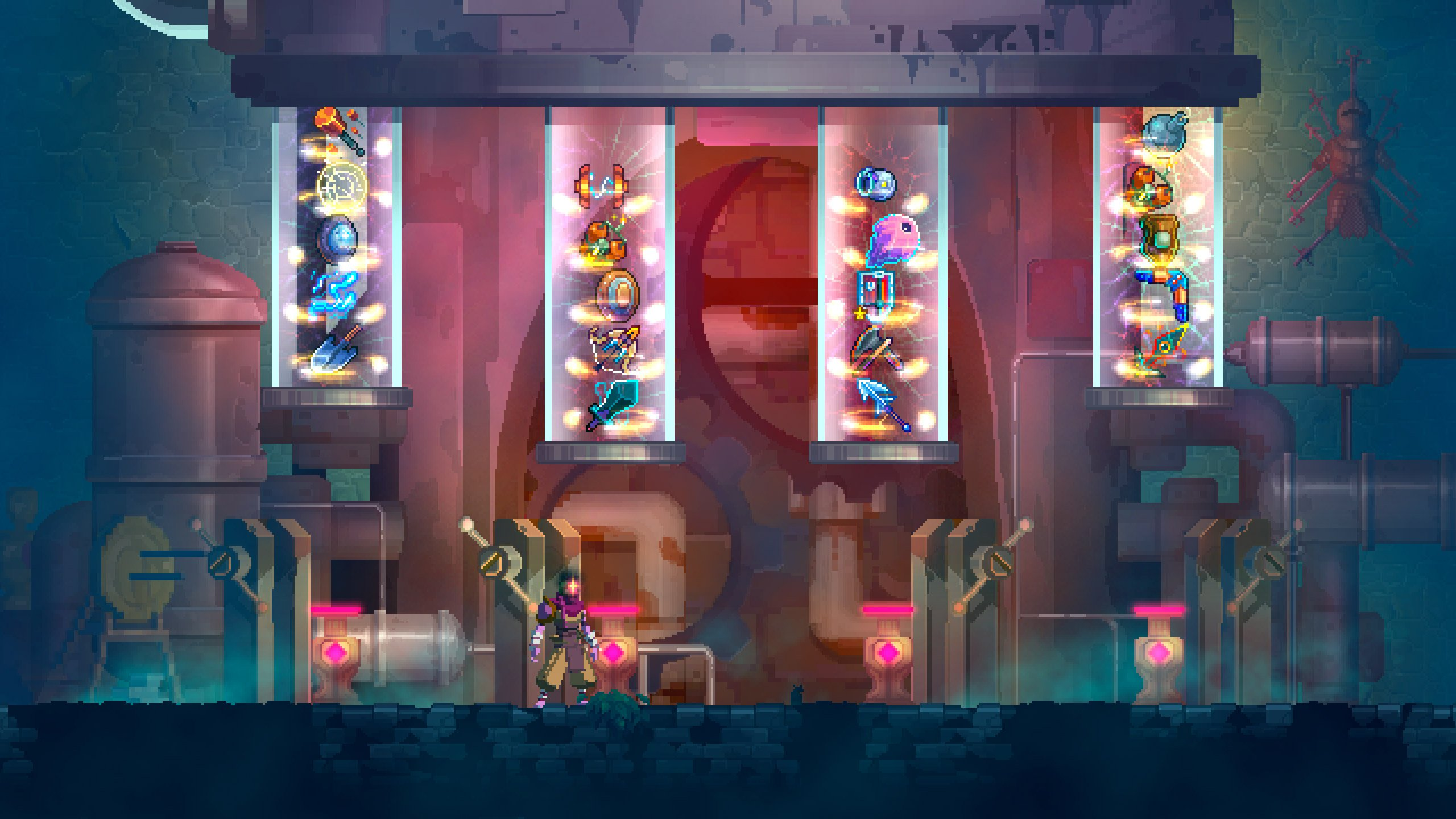 Dead Cells has a new rune to help you fully explore levels