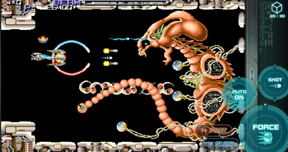 R-Type Dimensions EX blasts off on iOS devices screenshot