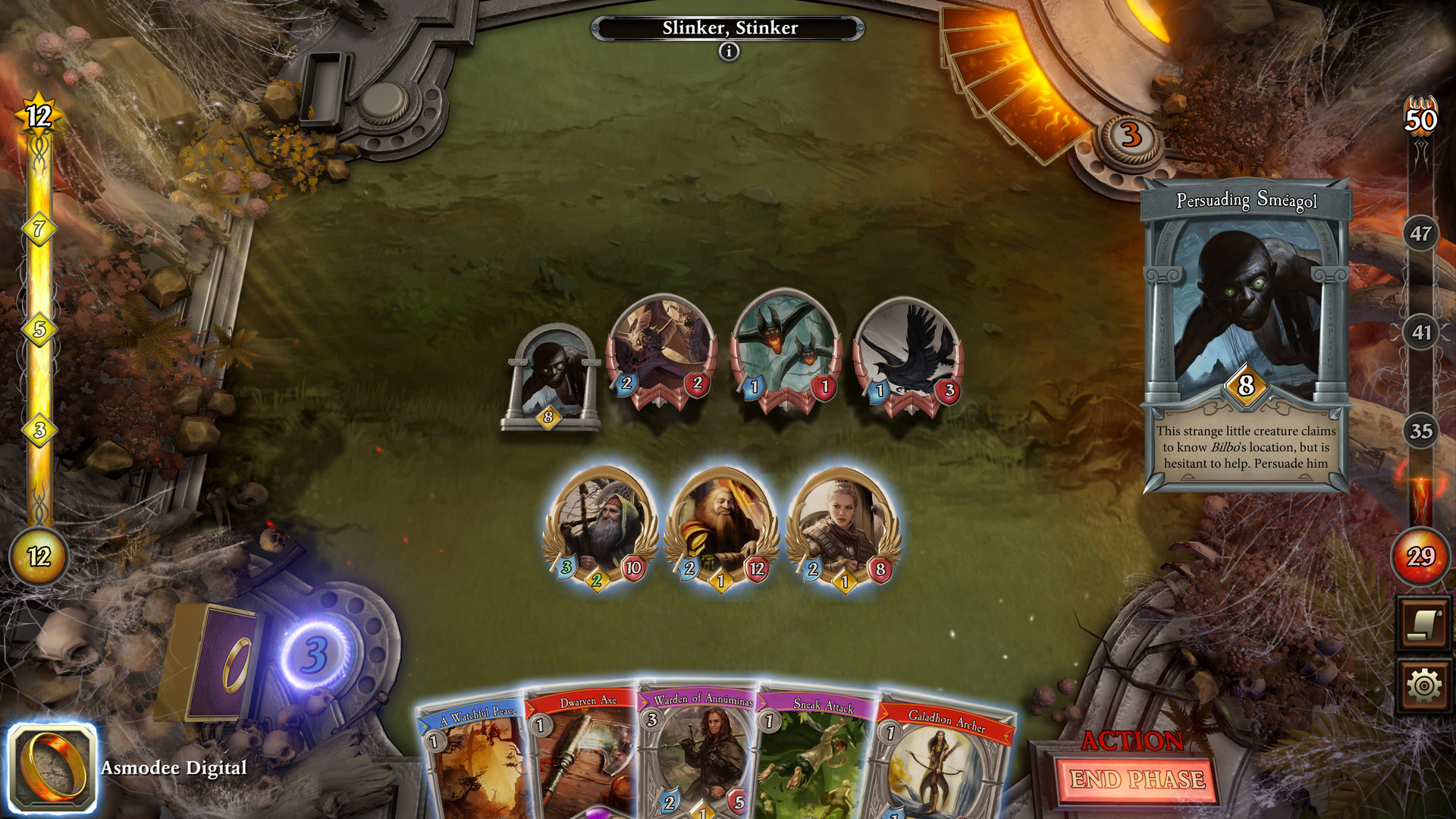 The Lord of the Rings: Adventure Card Game Nintendo Switch review