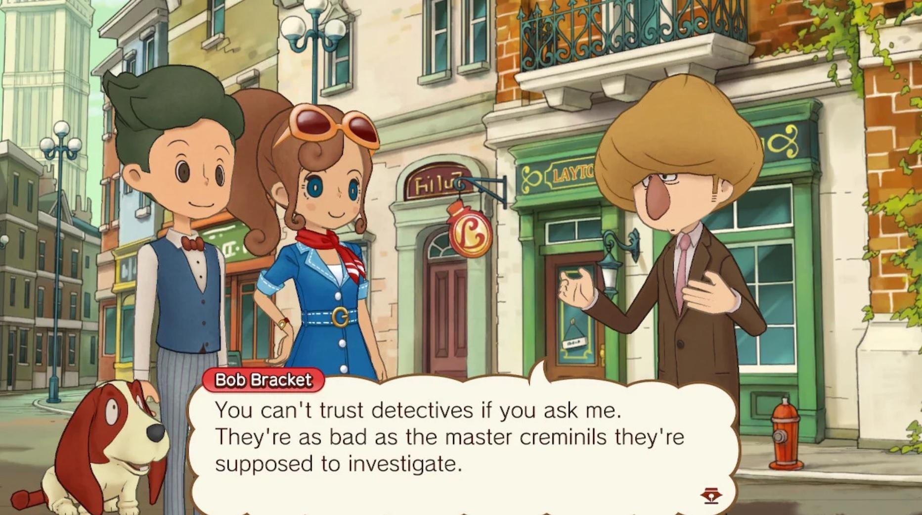 Nintendo Download: Layton's Mystery Journey screenshot