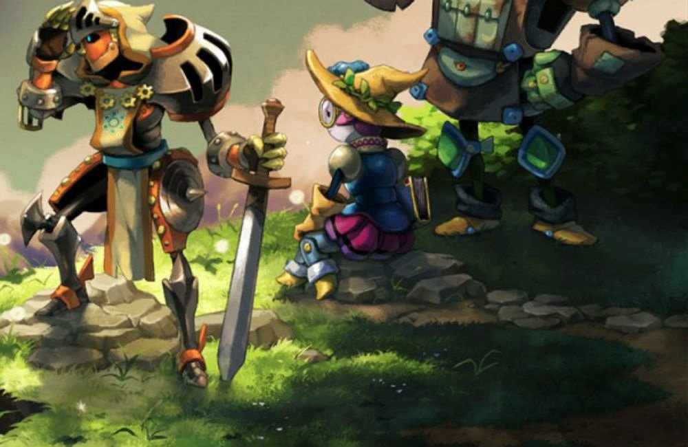 Contest: Take home a physical Switch copy of SteamWorld Quest from Super Rare Games screenshot