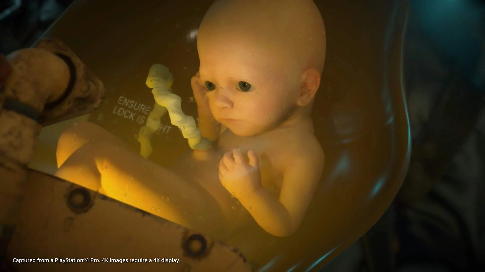 Here are some free Death Stranding baby in a jar PlayStation avatars screenshot
