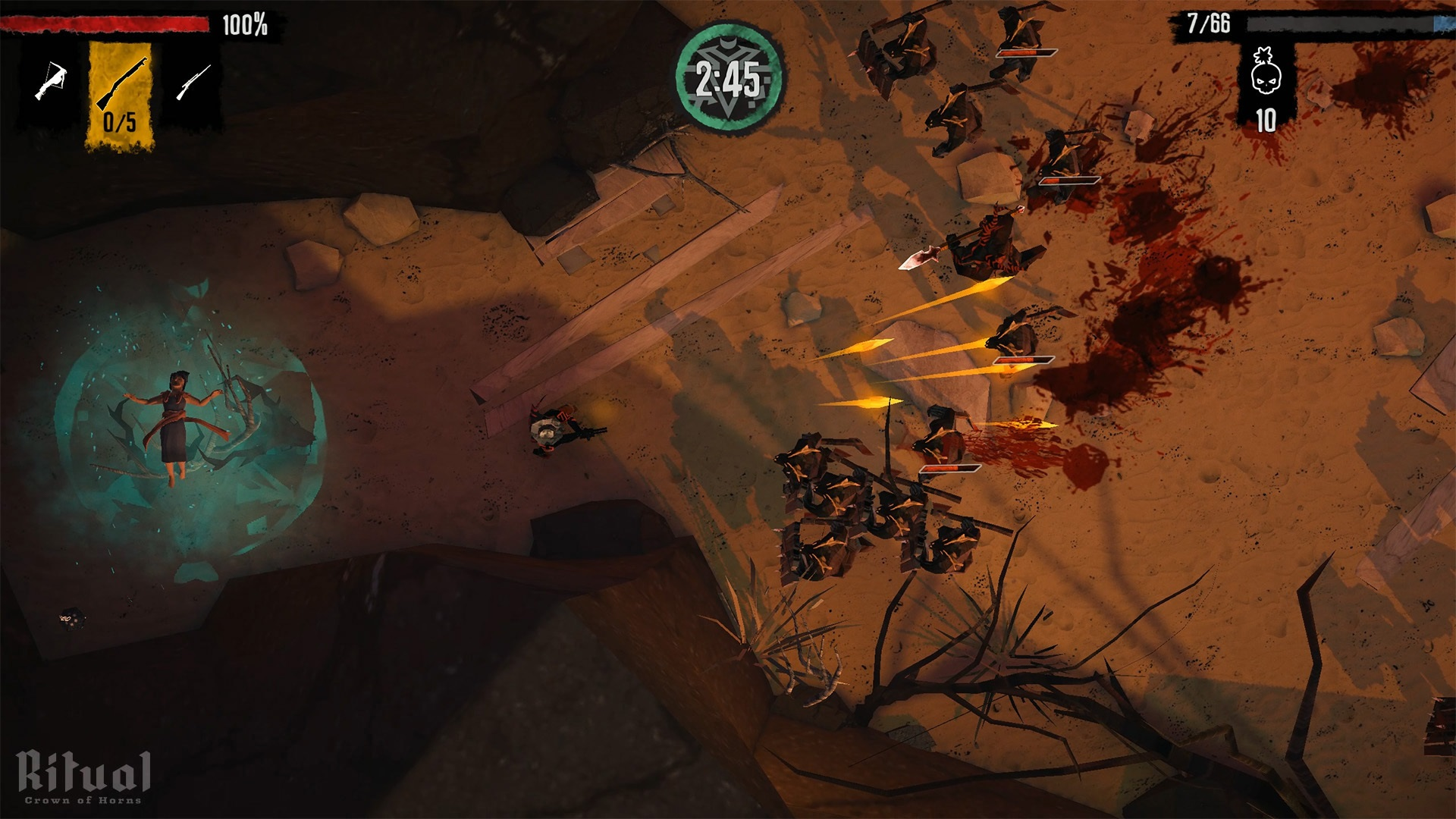 Contest: Slay demons in the Weird West with Ritual: Crown of Horns for Switch screenshot