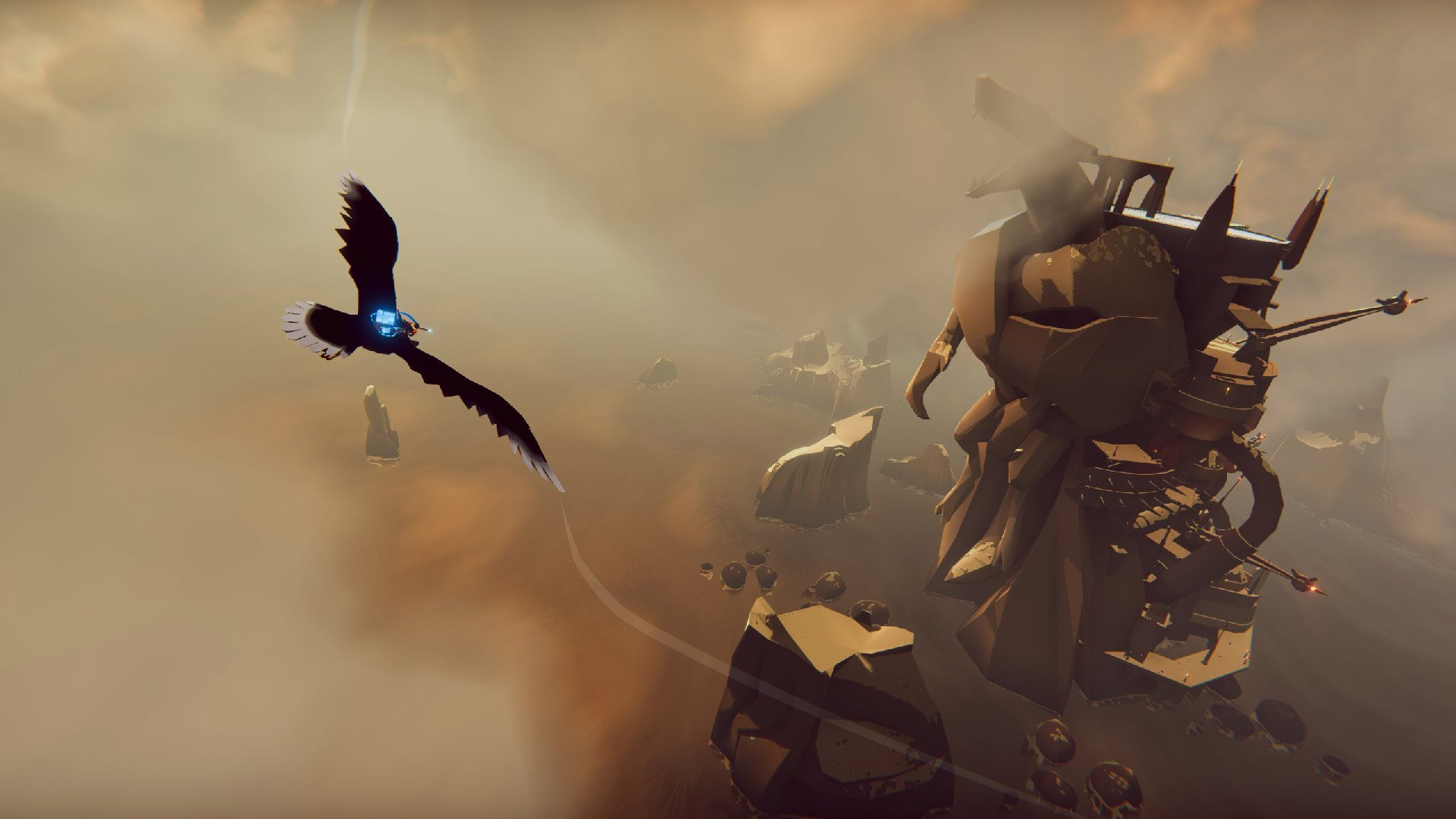 The Falconeer is worth a look for aerial combat fans screenshot