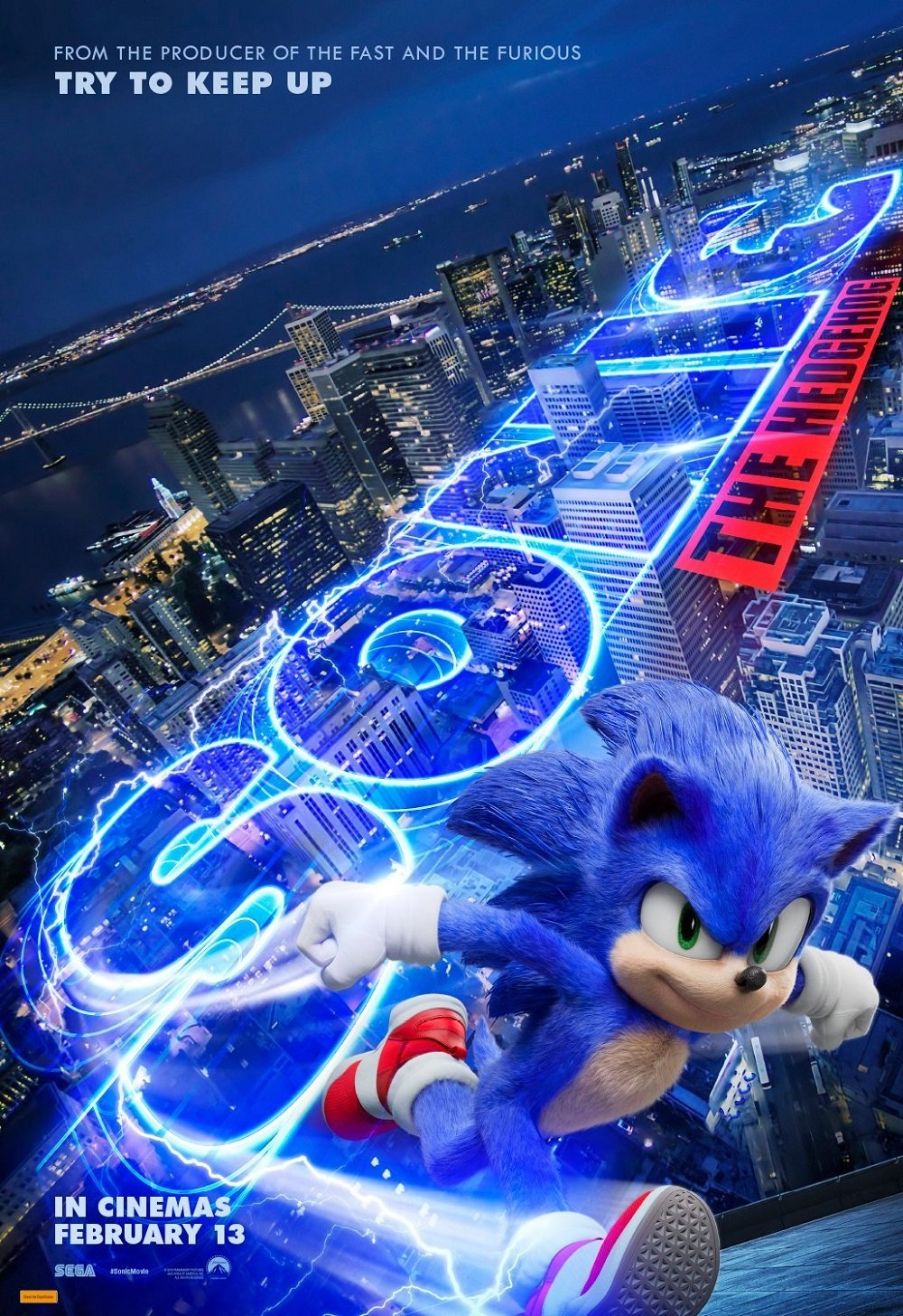 Sonic The Hedgehog Movie Redesign Revealed In Brand New Trailer The Magicbox Forums