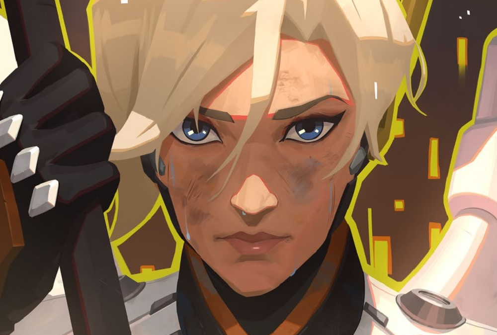 Overwatch novelette looks at Mercy's origins and reveals new skin screenshot