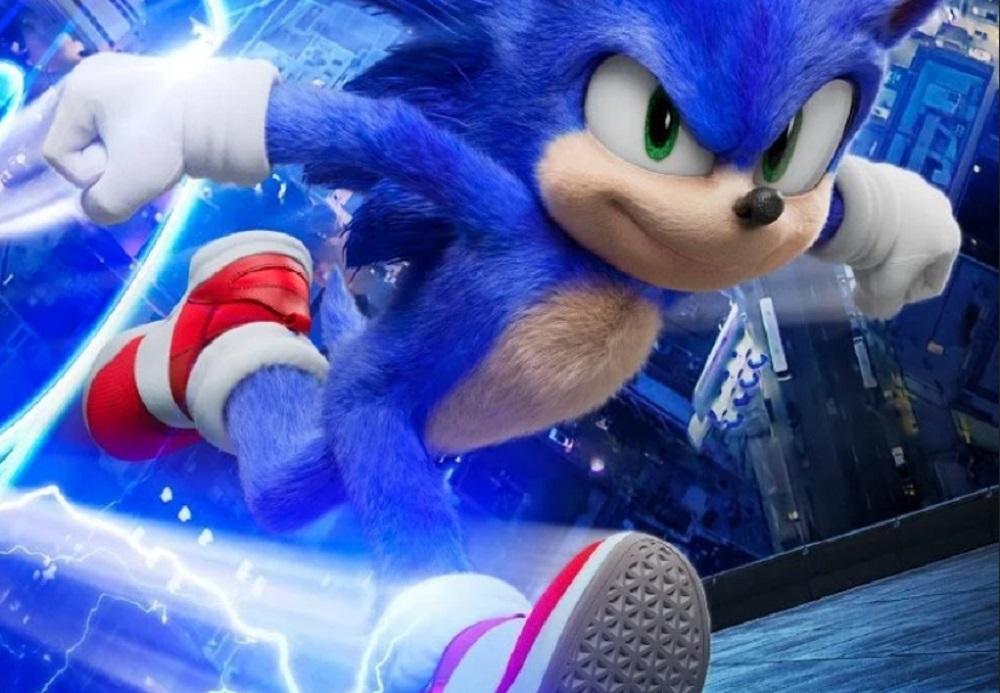 Puma teases Sonic the Hedgehog movie sneakers screenshot