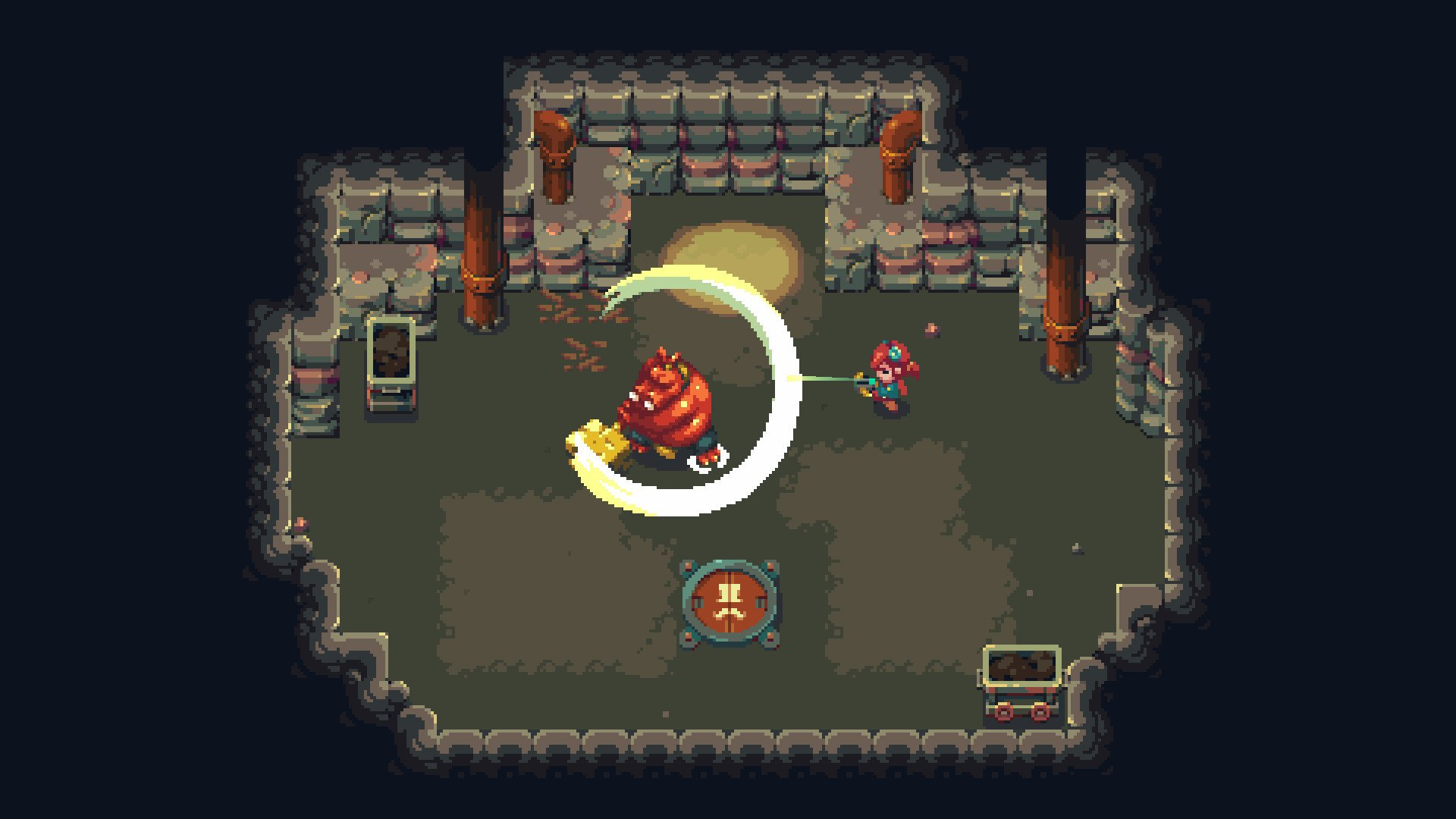 Sparklite is a cute roguelike that's best enjoyed on Switch screenshot