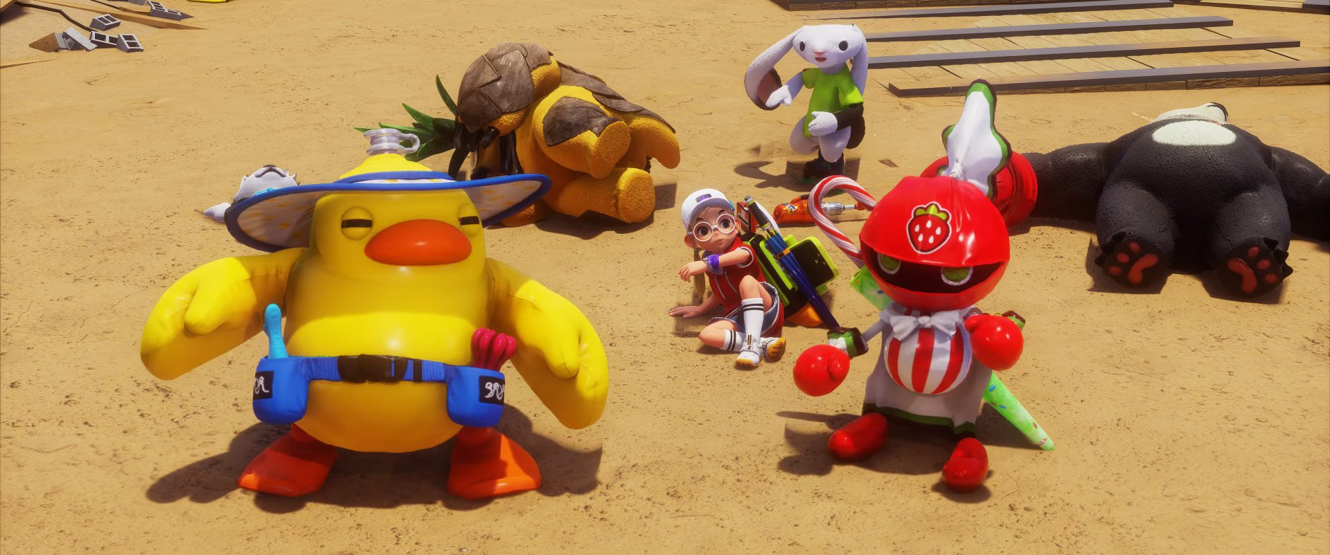 DokeV is an oddball 'family-friendly' MMO from the makers of Black Desert screenshot