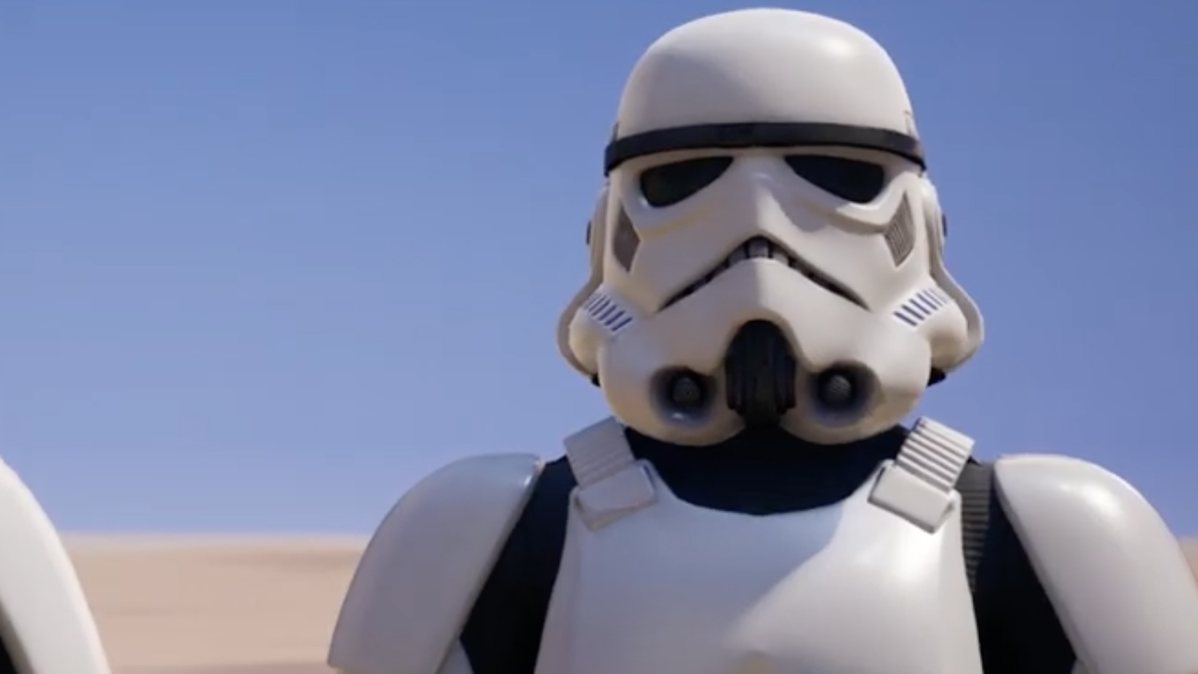 Become a terrible shot with the Fortnite Imperial Stormtrooper skin screenshot
