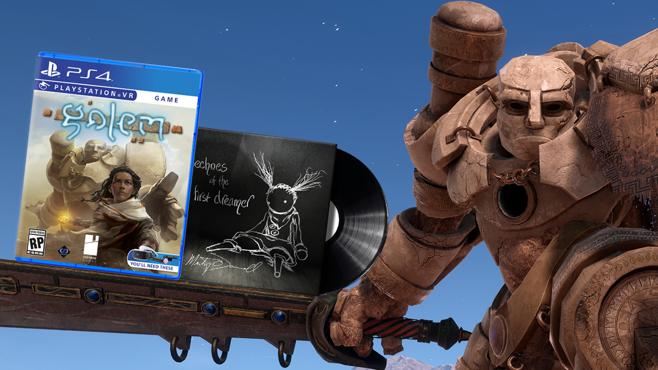 Contest: Enjoy VR sights and vinyl sounds with Golem and this exclusive signed soundtrack screenshot