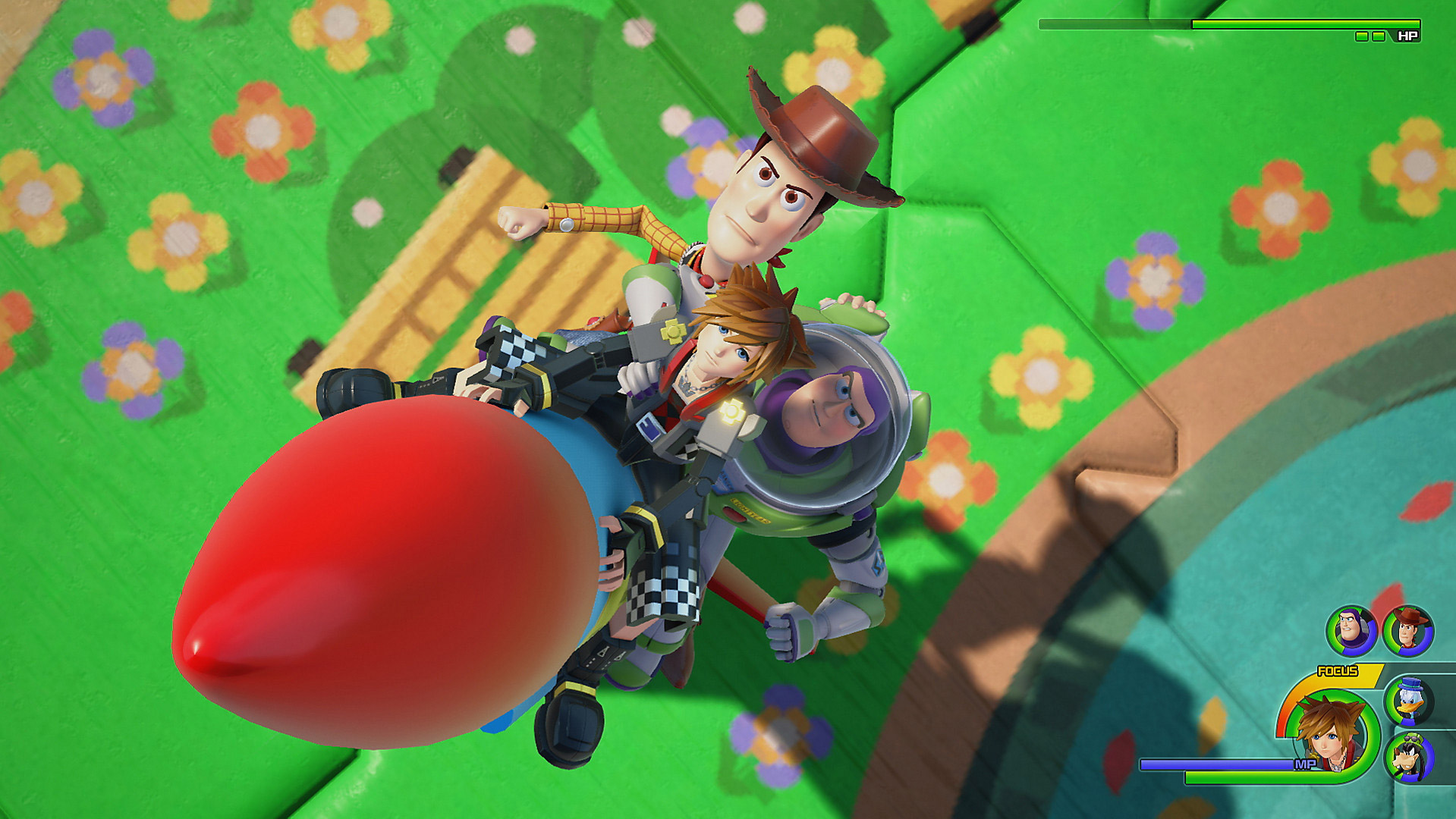 The Kingdom Hearts III demo includes one of the best worlds screenshot