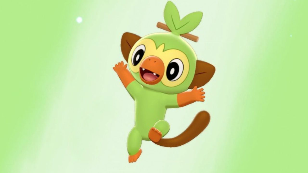Grookey has the ugliest evolutionary line of any starter Pokemon
