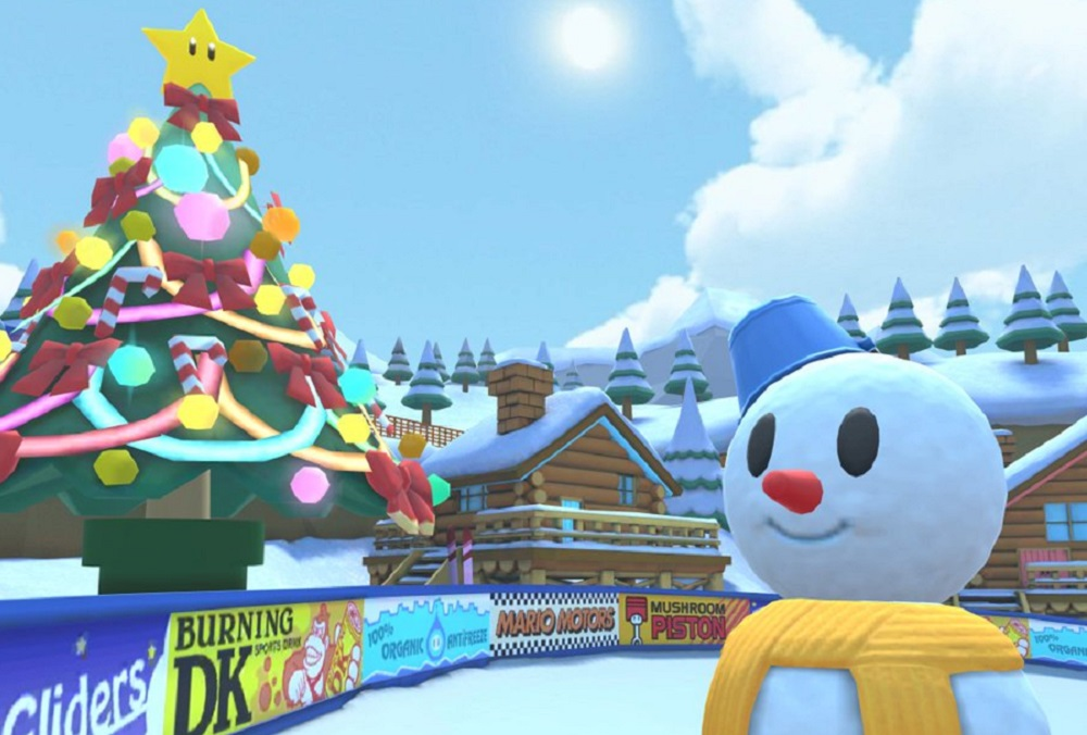 It's beginning to look a lot like Christmas in Mario Kart Tour screenshot