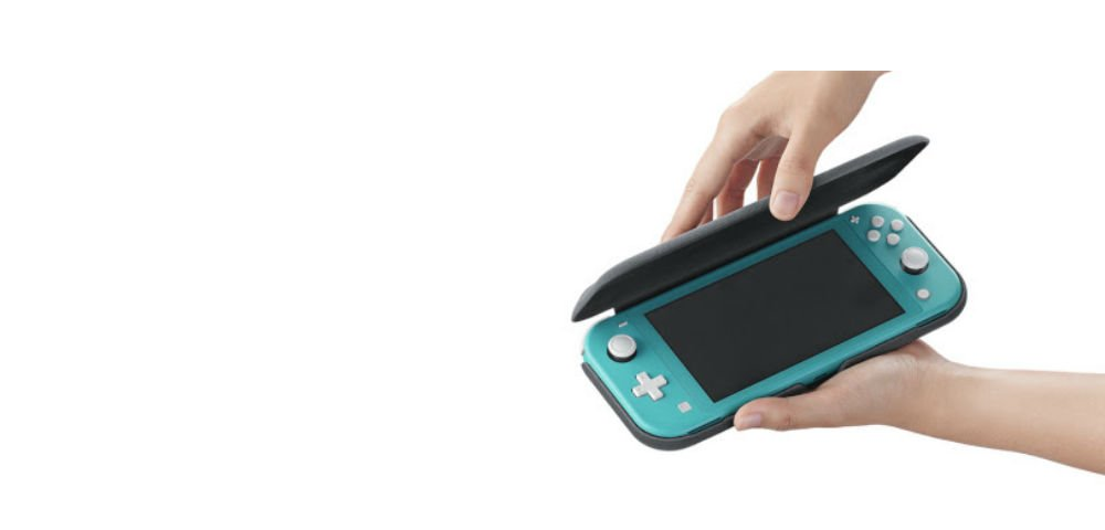 The Switch Lite is getting an official cover accessory screenshot