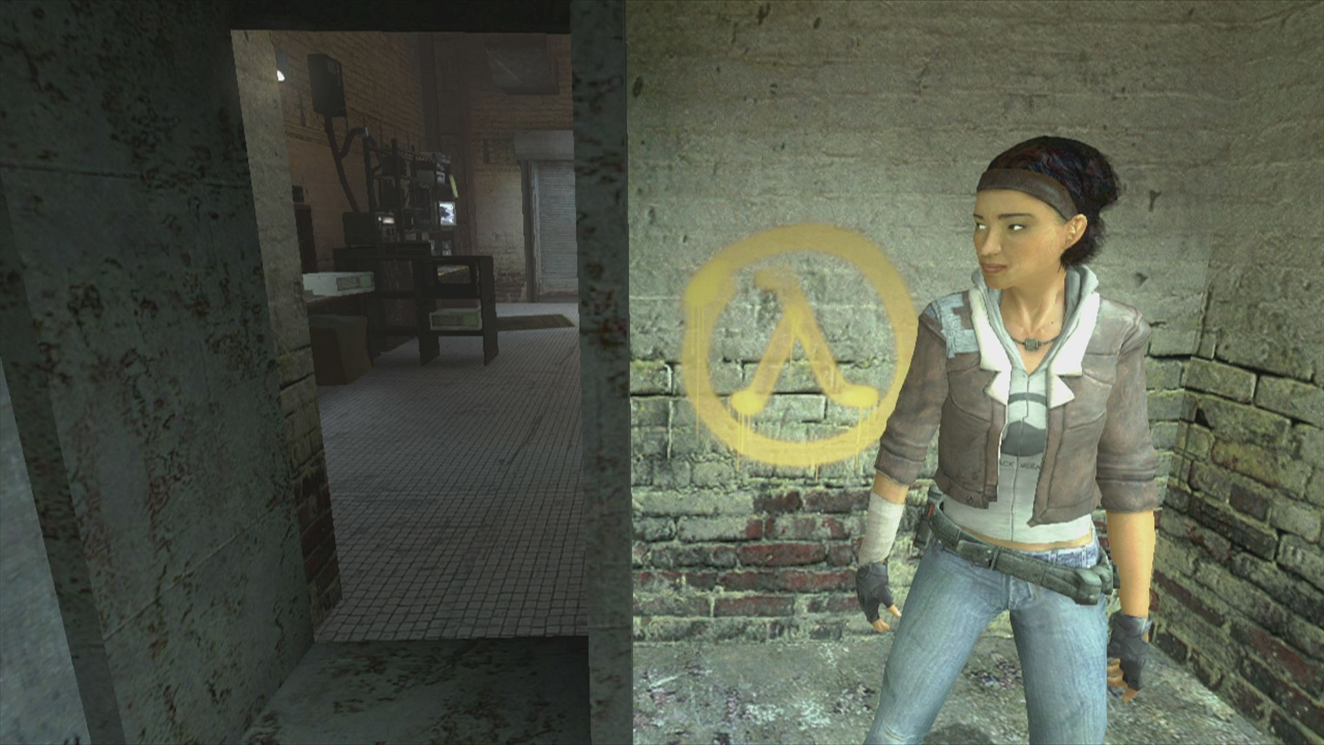 Valve could reveal a followup to Half-Life 2 this week, but it's a VR game screenshot