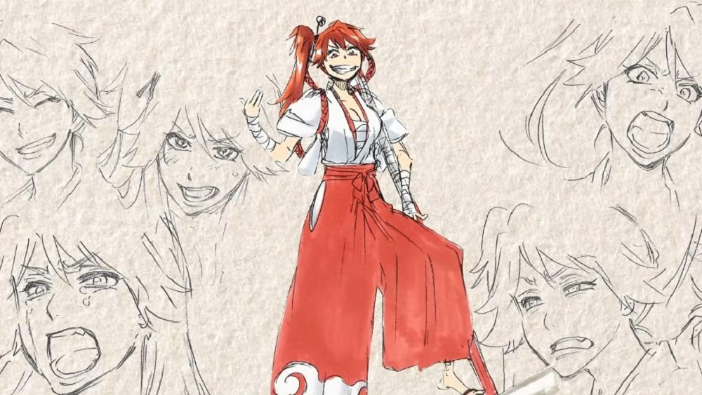 Project Sakura Wars video looks at Tite Kubo's character concepts screenshot
