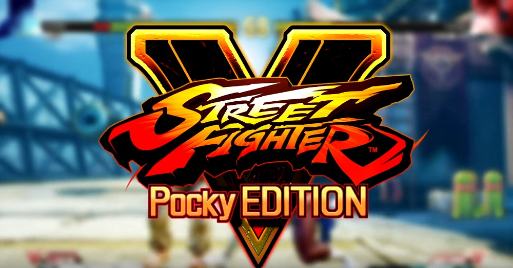 Street Fighter V teams up with Pocky for 'Pocky K.O. Challenge' screenshot