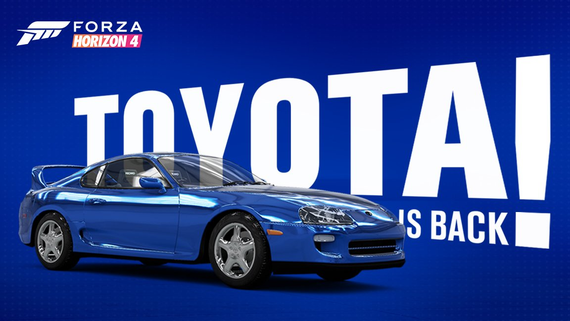 Toyota is back in Forza 'for years to come' screenshot