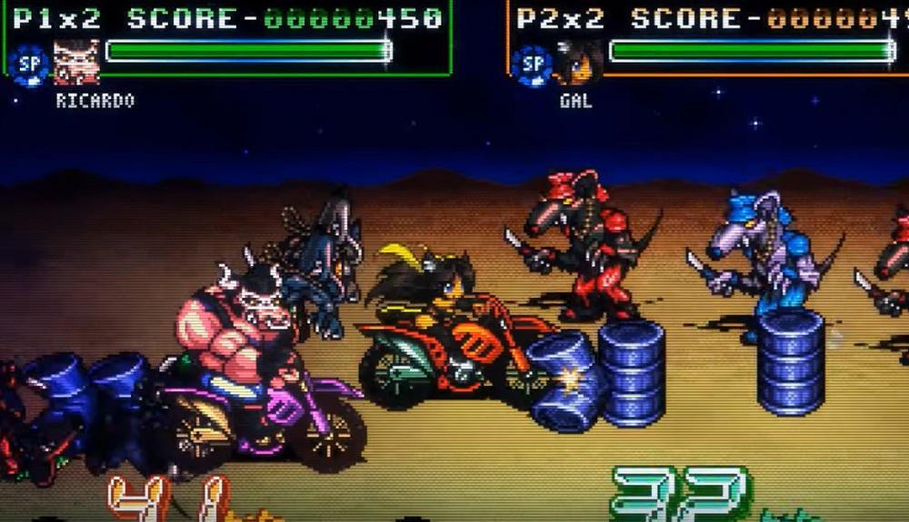 Fight'N Rage will be cracking skulls on PS4 December 3 screenshot