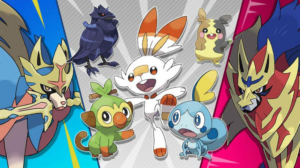 Pokemon Sword and Shield is invading Smash Ultimate's spirit board screenshot