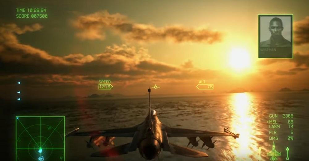 Ace Combat 7 video details upcoming DLC Ten Million Relief Plan screenshot