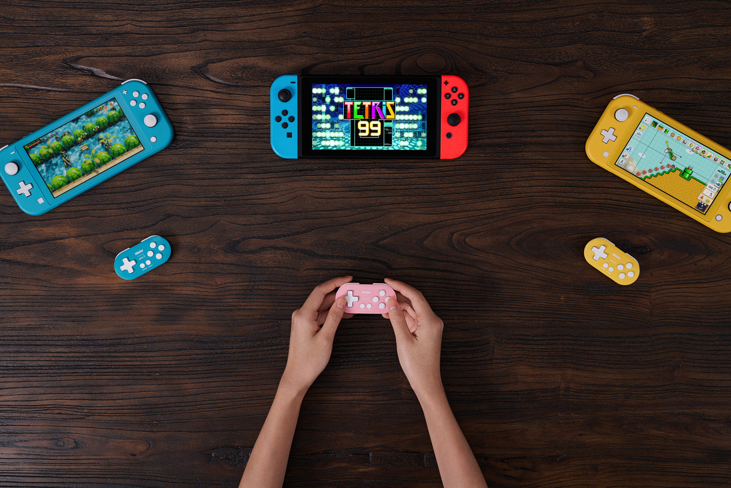 8BitDo is making one of the smallest controllers ever made, and it works on Switch screenshot