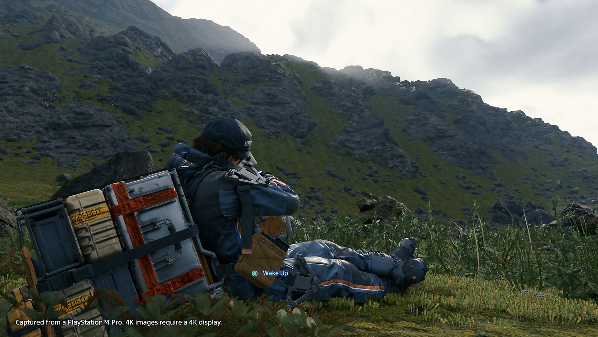 I can't rest in Death Stranding until I've planted zip-lines everywhere screenshot