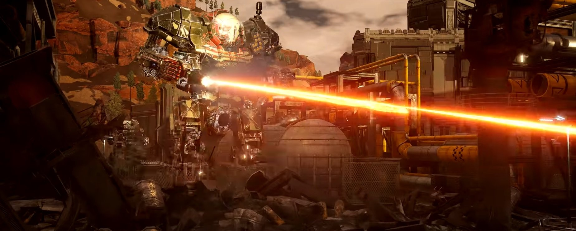 MechWarrior 5 is getting novellas leading up to its launch, as well as new footage screenshot